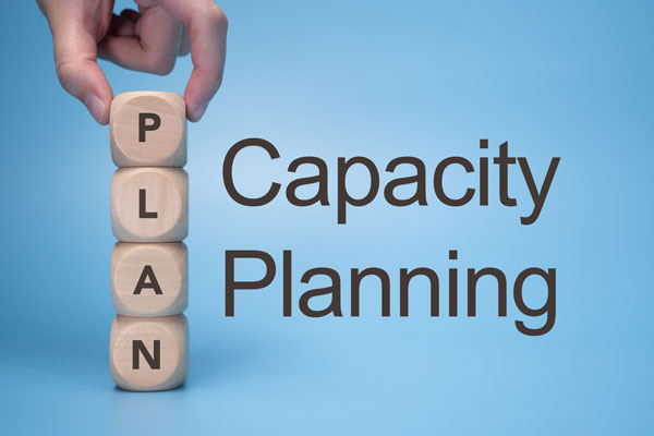 Capacity Planning in resource management