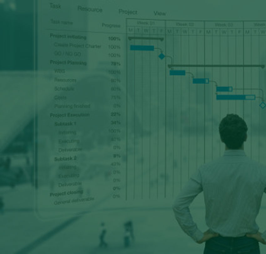 Project Management with modern ERP